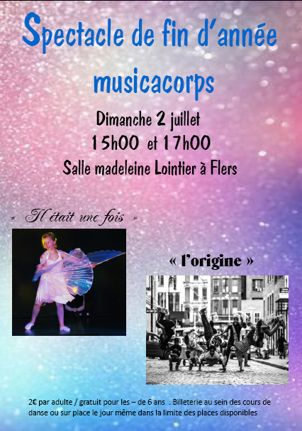 Spectacle musicacorps